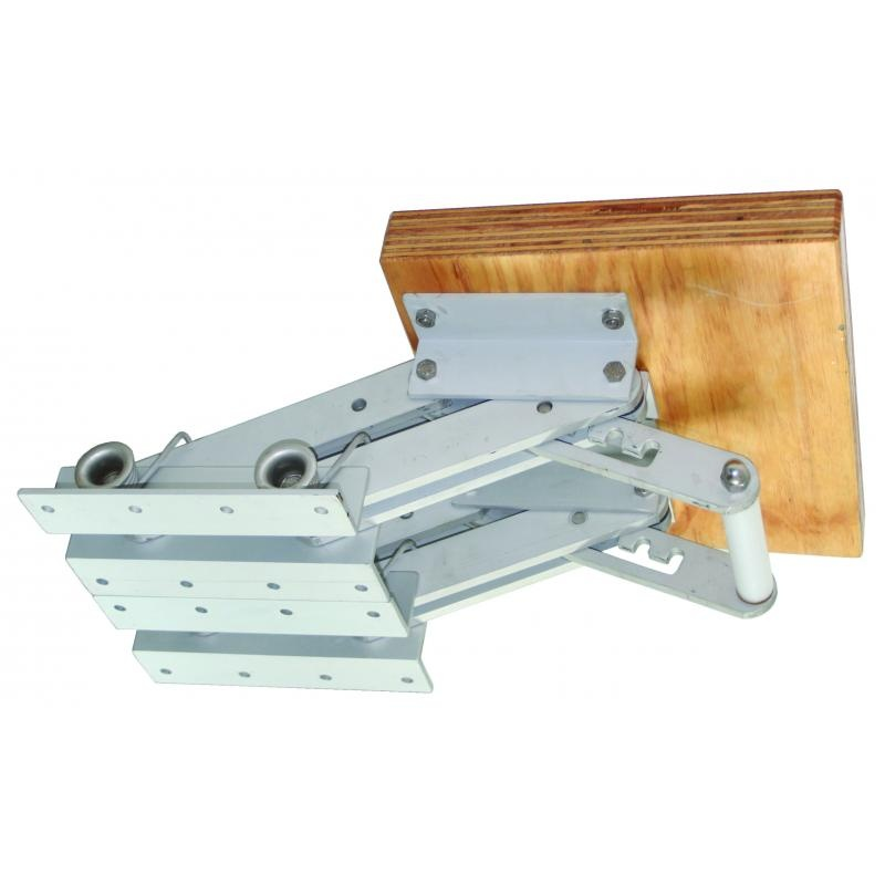 Klappbare Motorhalterung für Motore bis ca.30 kg
