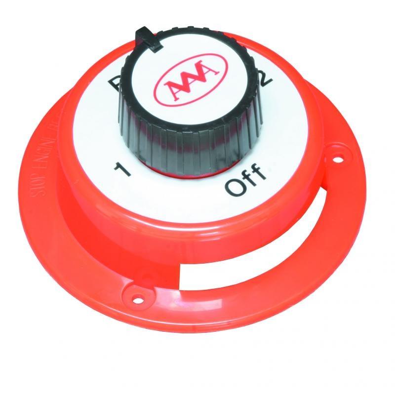 Batterie-Umschalter f.12 Volt, 150 Amp. Dauerlast
