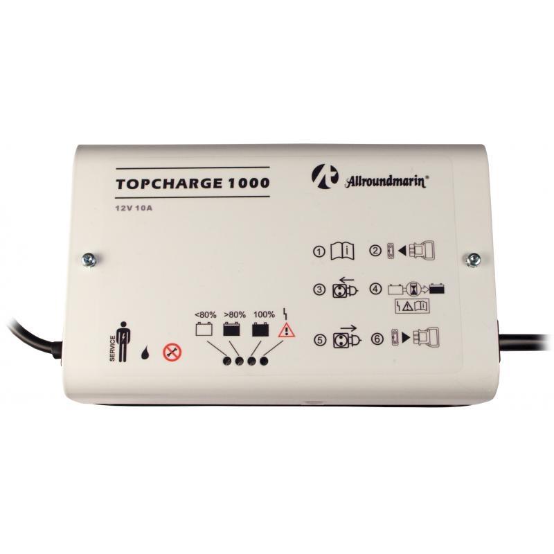 Topcharge 1000 (weiß) f. AGM & Gel-Batterien