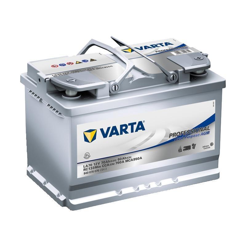 VARTA Professional AGM 12V 70Ah