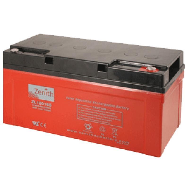 Zenith AGM DEEPCYCLE Batterie 65 Amp.