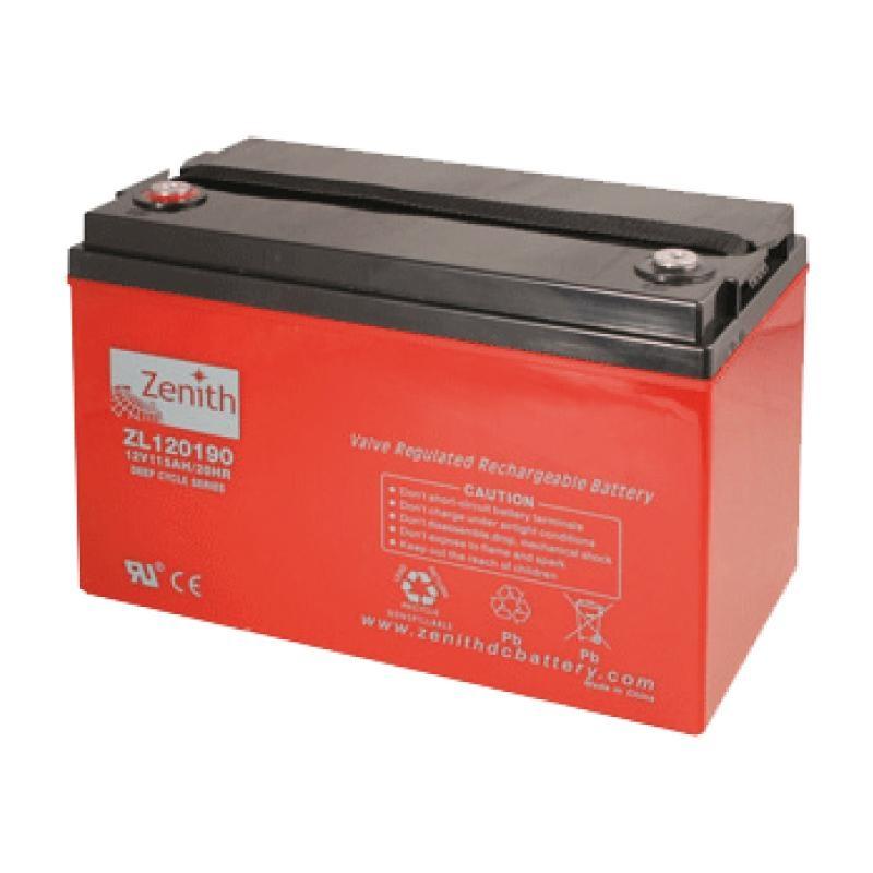 Zenith AGM DEEPCYCLE Batterie 115 Amp