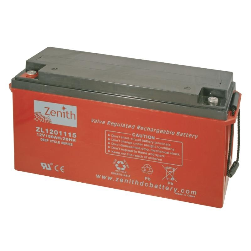 Zenith AGM DEEPCYCLE Batterie 260 Amp.Gewicht 78kg
