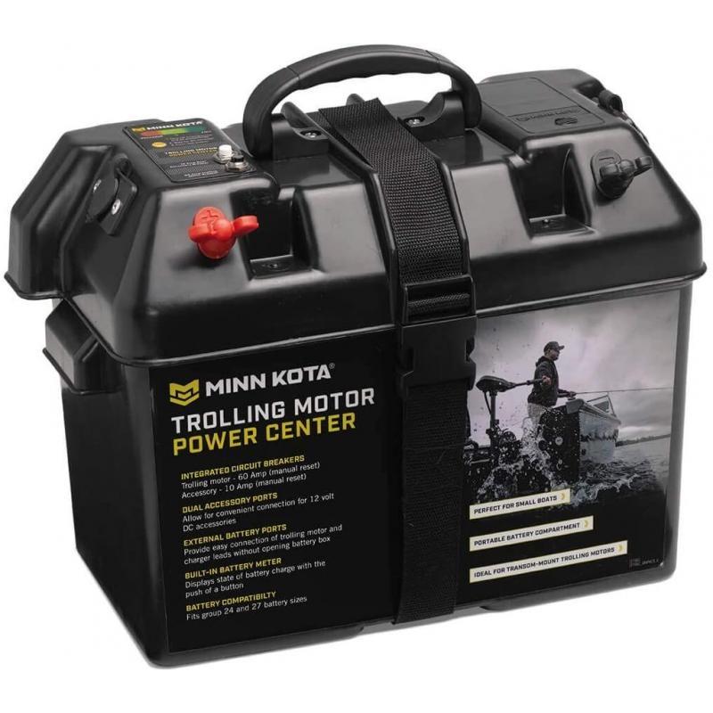 Batteriekoffer / Batteriebox mit Sicherung