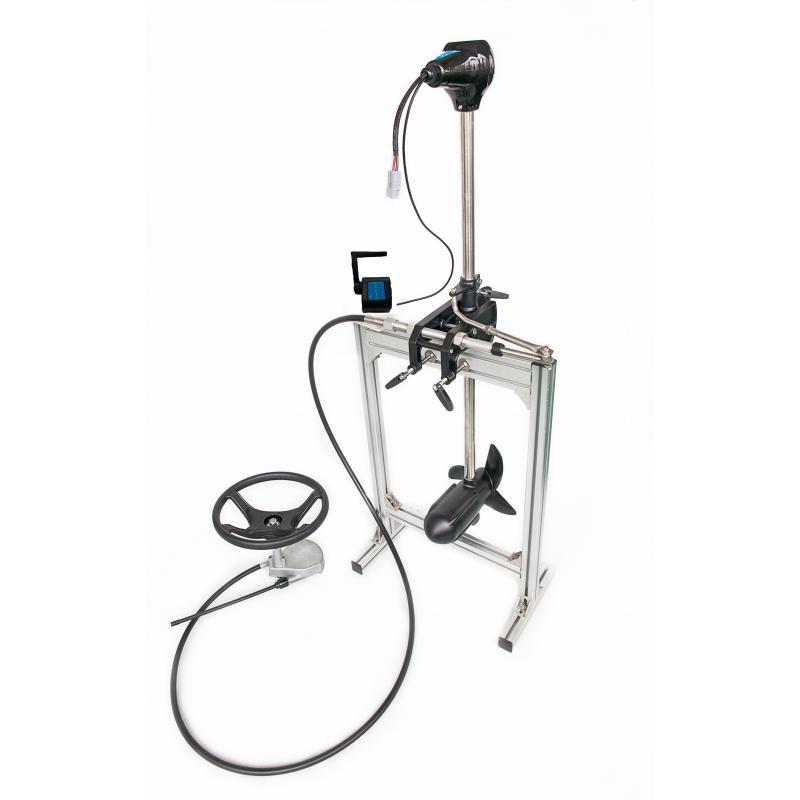 EcoPower 3.0: 24V - 140lbs - 2100W mit Steuerungssystem (Lenkung und Ferngashebel)