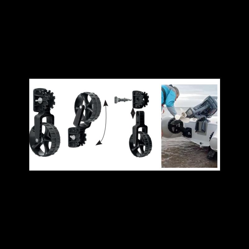 C-TUG Schlauchboot – Räder