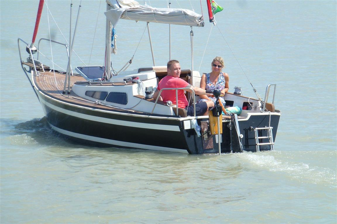 EcoPower am Boot im Einsatz